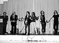 Allen Ginsberg and the Fugs performing at the 1989 conference in Philadelphia
