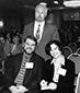 Phillip Gerard, former president, David Fenza, executive director. and Julie Checkoway, former president