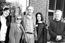 Carol Houck Smith, former board member, Kurt Brown, founder of Writers' Conferences & Festivals, and Carol Jane Bangs, former WC&C board representative