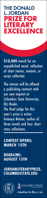 Enter the Donald L. Jordan Prize for Literary Excellence