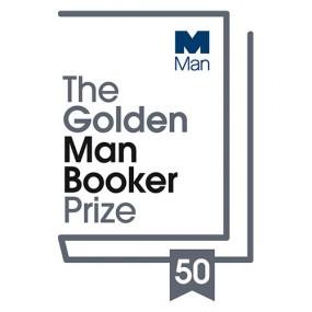 Golden Man Booker Prize Logo