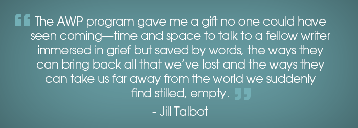 A Surprising Gift in a Time of Loss by Jill Talbot
