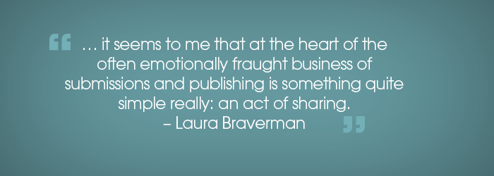 The Mentorship Program and My First Book by Laura Braverman