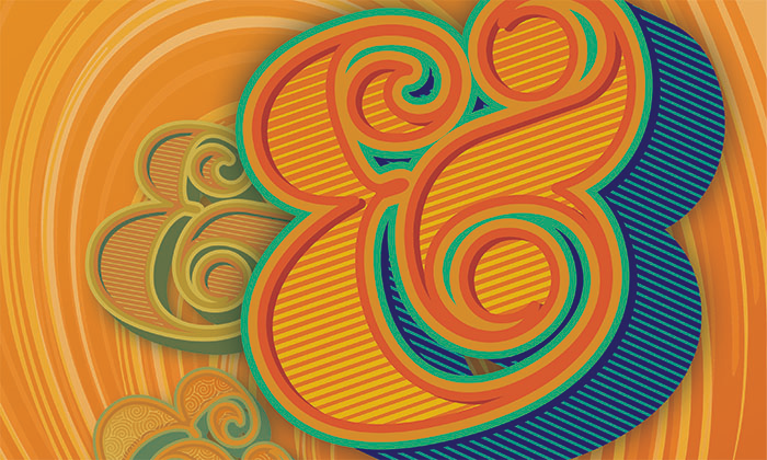 Giving Thanks to the Ampersand by Kate McDevitt