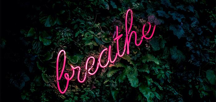 Breathing to Write by Jennifer Sinor, April 2020
